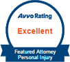 Avvo Excellent Personal Injury Rated